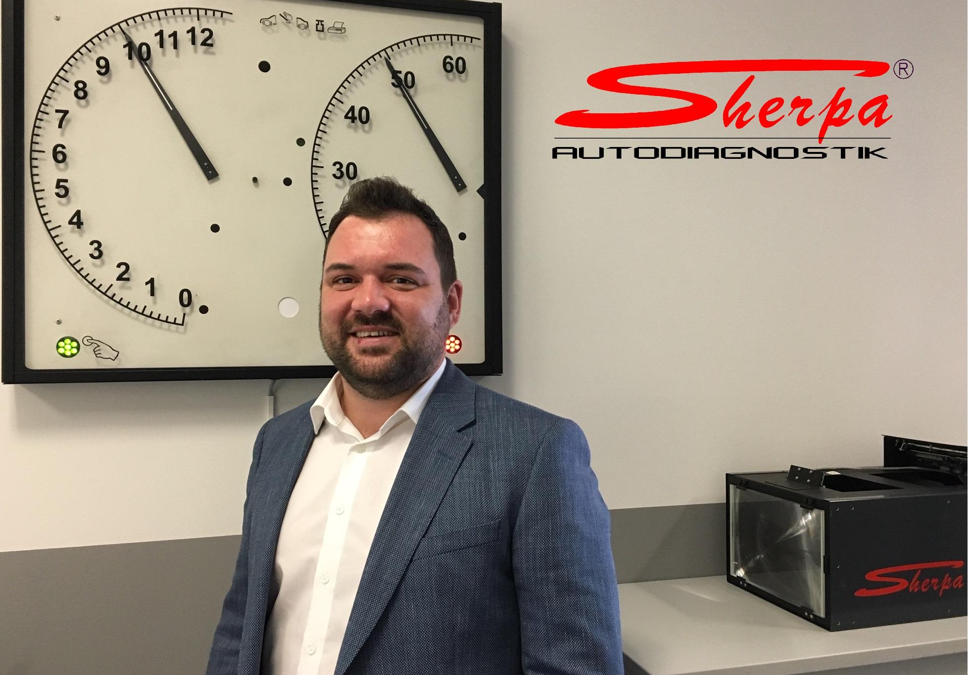 SHERPA Neuer Mitarbeiter Entwicklung Herr Bosin