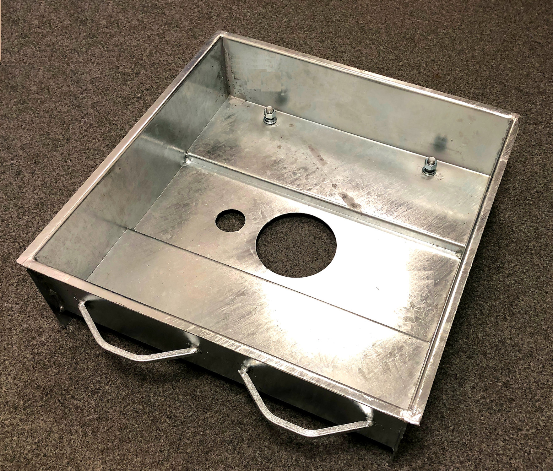 Hot-dip galvanized Foundation Tray